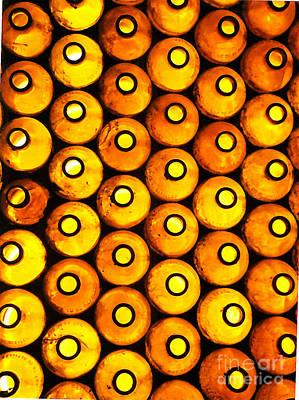 Photograph - Bottle Pattern by Nareeta Martin