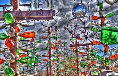 Photograph - Bottle Tree Farm by Dorothy Cunningham