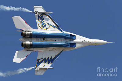 Giuseppe Cristiano - Bottom View Of A Russian Mig-29ovt by Anton Balakchiev