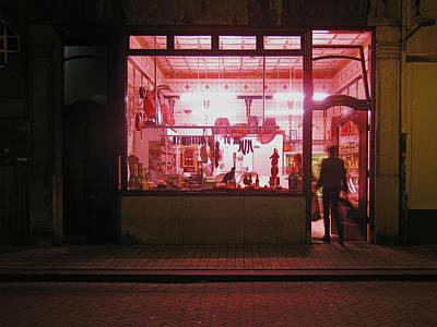 Photograph - Boucherie by Nop Briex