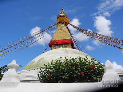 Photograph - Boudhanathkathmandu by Pauline Margarone