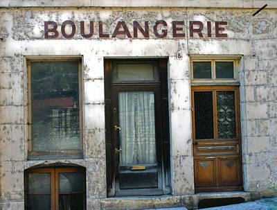 Boulangerie Photograph - Boulangerie by Georgia Fowler