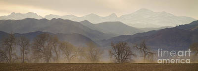 View Photograph - Boulder County Colorado Layers Panorama by James BO  Insogna