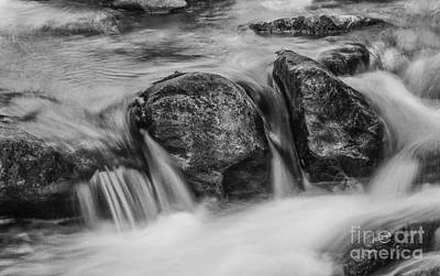 Photograph - Boulders In Stream by David Waldrop