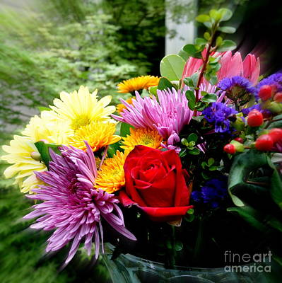 Bouquet  2 Art Print by Tanya  Searcy