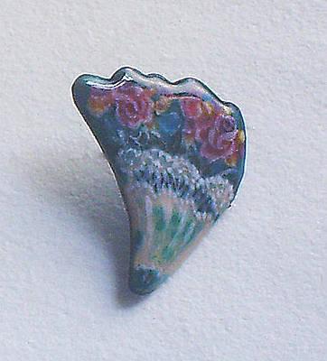 Enamel On Copper Jewelry - Bouquet by Asya Ostrovsky
