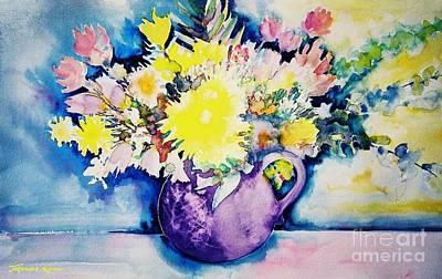 Painting - Bouquet by Frances Ku