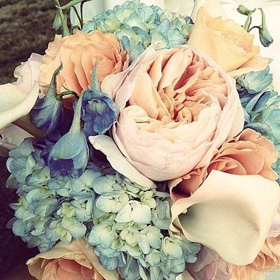 Bouquet Photograph - Bouquet by Love Bird Photo