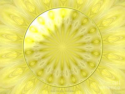 Studio Grafika Zodiac - Bouquet of Roses kaleidoscope 7 by Rose Santuci-Sofranko
