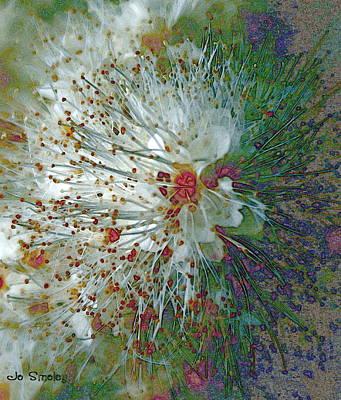 Stamen Digital Art - Bouquet Of Snowflakes by Joanne Smoley
