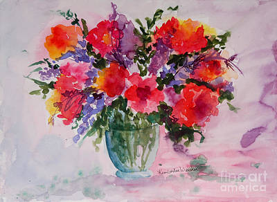 Bouquet Of Wishes Art Print by Kimberlee Weisker