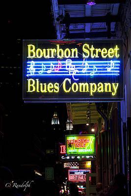 Bourbon Street Blues Art Print