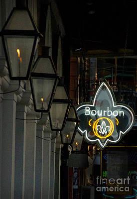 Photograph - Bourbon Street Fleur by Jeanne  Woods