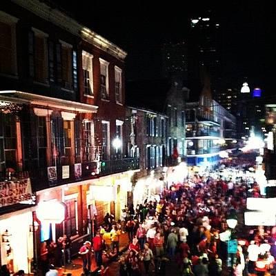 New Orleans Photograph - Bourbon Street by Rachael Sansing