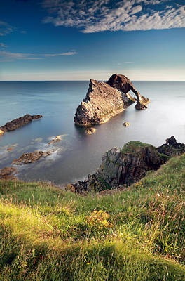 Bow Fiddle Rock Photograph - Bow Fiddle Rock  by Grant Glendinning