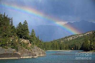 Photograph - Bow Rainbow by Frank Townsley