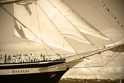 Bow Sprit Photograph - Bow Sprit Of Tall Ship by Kym Backland