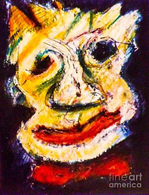 Bow-tie Man Art Print by Bill Davis