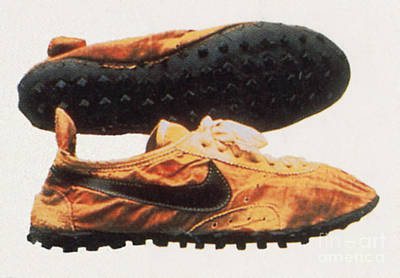 Bowermans Waffle Sole Design Print by Photo Researchers