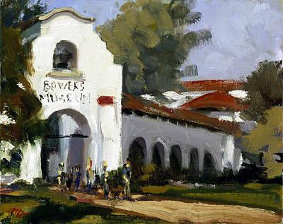Bowers Museum Art Print