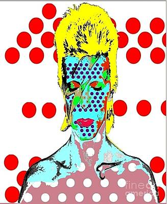 Bowie Art Print by Ricky Sencion