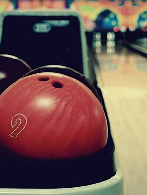 9 Ball Photograph - Bowling In Color by Darla Winn, Photographer