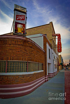 Photograph - Bowling Right Around The Corner by Mark David Zahn Photography