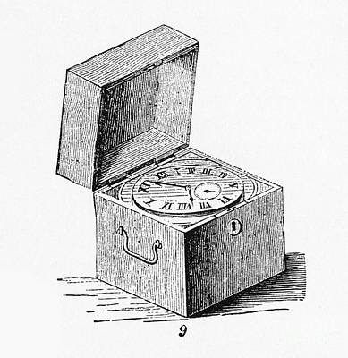 Box Chronometer Art Print by Science Source