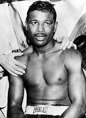 Boxer Sugar Ray Robinson, 1921-1989 Art Print by Everett