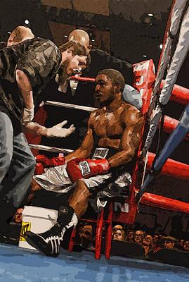 Boxer Art Print by Wade Aiken