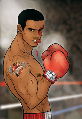 Boxing Julian Original by David Cantero