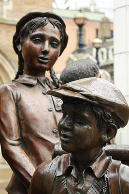 National Socialism Photograph - Boy And Girl In Wartime by Steve K