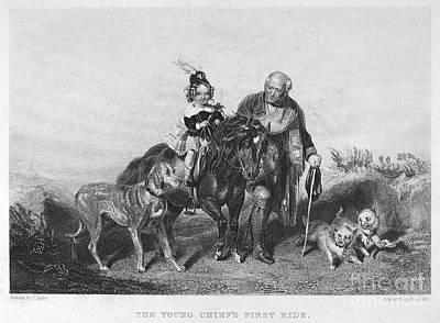 Scottish Dog Photograph - Boy Riding by Granger