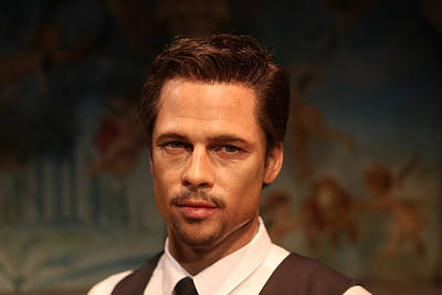 Photograph - Brad Pitt - William Bradley Brad Pitt - Actor-  by Lee Dos Santos