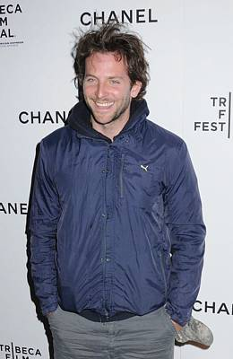 Windbreaker Photograph - Bradley Cooper At Arrivals For Tribeca by Everett