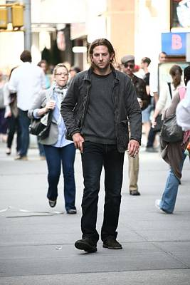 Paparazziec Photograph - Bradley Cooper On Location For The Dark by Everett
