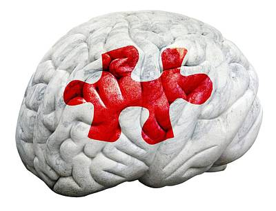 Brain Function, Conceptual Print by Victor De Schwanberg