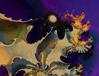 Digital Art - Bramble Bush by Connie Dye