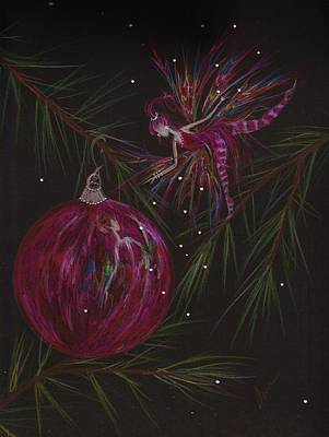 Pine Needles Drawing - Branch Balance by Dawn Fairies