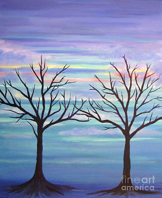 Branching Out Art Print by Stacey Zimmerman
