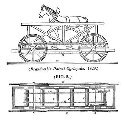 Brandreth's Cyclopede Art Print
