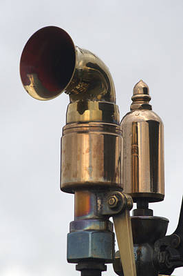 Photograph - Brass Horn by Chris Day