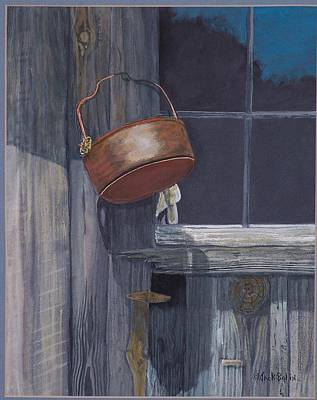 Painting - Brass Pot  Sold by Jack Bolin