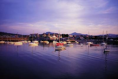 Bray Harbour, Co Wicklow, Ireland Art Print