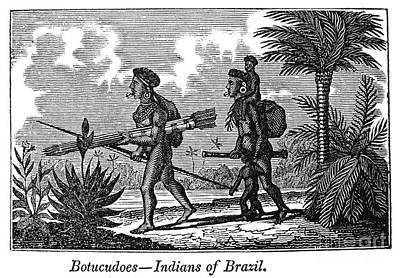 Brazil: Indians Art Print by Granger