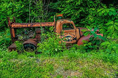 Photograph - Brazing Truck II by Gene Hilton