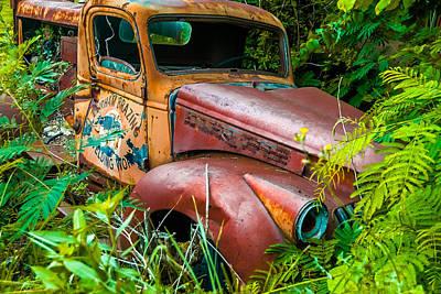 Photograph - Brazing Truck IIi by Gene Hilton