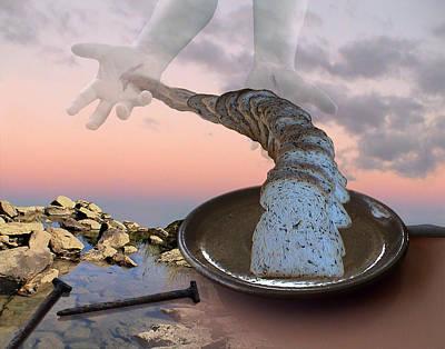 Digital Art - Bread by Jennifer Kathleen Phillips