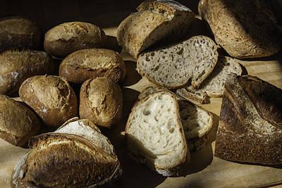 Bread Art Print by Michael Wessel
