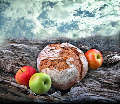 Bread Of The World Art Print by Manfred Lutzius